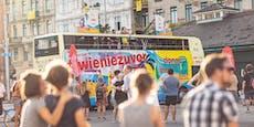 Lemo rockt und rollt mit dem Donauinsel-Tourbus