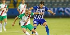 1:2-Blamage reicht Rapid zu drei Europacup-Millionen
