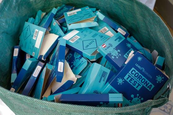 Die PCR-Gurgeltests sind kostenlos - noch.
