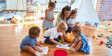 Wiens Privat-Kindergärten streiken am 12. Oktober