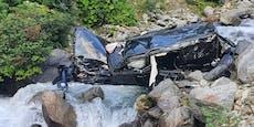 32-Jähriger stürzt bei Heimreise mit Auto in den Tod