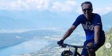 Ex-Bundeskanzler Kern bei Radsturz in Kärnten verletzt