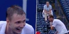 """Tennis-Star: """"Das ist so dumm, er lacht dich aus"""""""