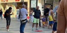 Hütchenspieler zocken Wiener wieder in der City ab