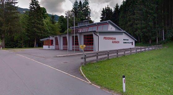 Das Rüsthaus der Freiwilligen Feuerwehr Aurach bei Kitzbühel.