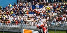 Cluster-Alarm – Öffentlicher Aufruf an MotoGP-Besucher