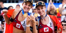 Schweizer Beach-Duo holt sich EM-Titel in Wien