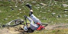 Biker (15) stürzte im Downhillpark – Heli im Einsatz