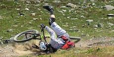Mountainbiker (20) verliert nach Sprung Kontrolle – tot