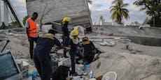Schon über 700 Tote nach Haiti-Beben
