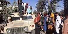 Taliban erobern vorletzte große Stadt Afghanistans