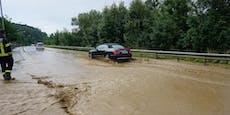 Unwetter zog über Bezirk Neunkirchen hinweg