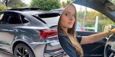 Davina Geiss (18) protzt mit ihrem Luxus-Audi