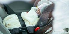 4 Wochen altes Baby bei Hitze in Auto eingeschlossen
