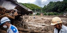 Extremer Regen in Japan: 2 Millionen Menschen in Gefahr