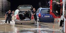 Wetter-Experten warnen vor Überflutungen im Süden Wiens