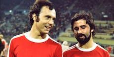 Beckenbauers emotionaler Abschied von Gerd Müller