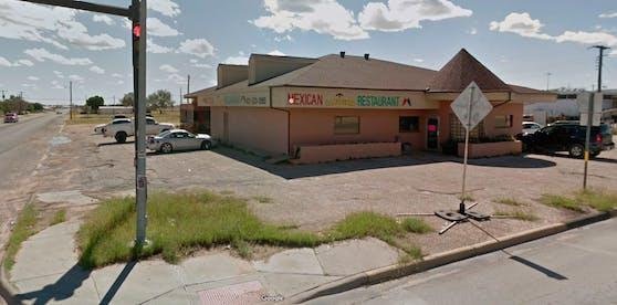 """""""La Fogata"""" in Andrews, Texas: Dieser Parkplatz wurde für einen Gast zur Stolperfalle."""