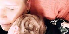 Hat der viele Haare – Virginia Ernst zeigt ihren Sohn!