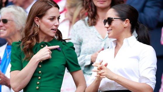 Herzogin Kate und Meghan haben nicht das beste Verhältnis.