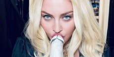Madonna feiert Geburtstag mit Penis-Bong!