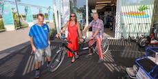 Von Rad bis Rikscha: Neuer Fahrradverleih am Copa Beach