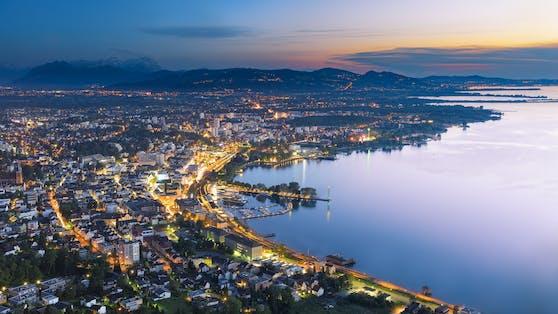 Der Bodensee ist Österreichs beliebtester Badesee auf der Social-Media-Plattform Instagram.