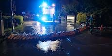 Unwetter-Chaos! Überflutungen, Muren & Blitzeinschläge