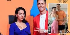 Georgina: Schämte mich, mit Ronaldo zu trainieren