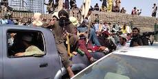 Protest gegen die Taliban wird brutal niedergeschossen