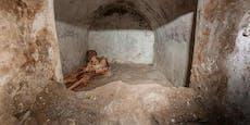 Spektakulärer Grabfund in derversunkenen Stadt