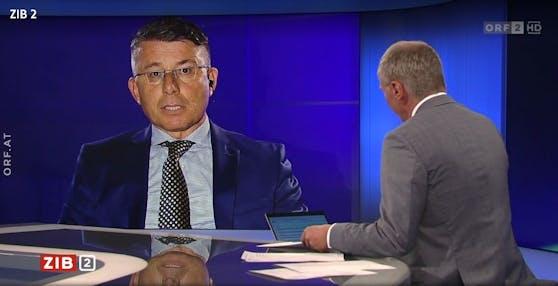"""Das """"ZiB2""""-Interview zu Afghanistan musste am Mittwoch wegen Ton-Problemen abgebrochen werden."""