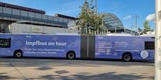 Wiener Impfbusse nun mit neuem Design unterwegs