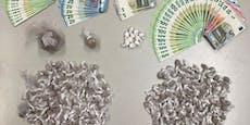 Duo hortete Cannabis und Bargeld in Wiener Wohnung