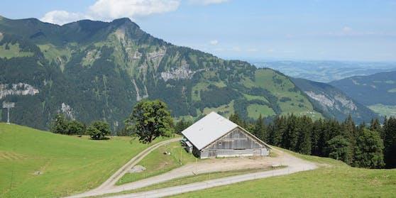 Vater und Sohn wollten im Gemeindegebiet von Mellau wandern gehen.