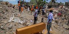 Zahl der Todesopfer steigt in Haiti auf fast 2.200