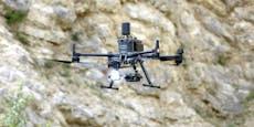 Drohnen werden für Einsätze immer wichtiger