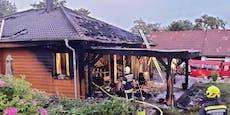 Hilfsaktion für dreiköpfige Familie nach Wohnhausbrand