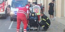 Sieben Verletzte bei Brand, Frau in Lebensgefahr