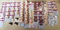 Balkan-Bande verkaufte in Wien Koks im Millionenbereich
