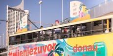 DIF: Amy Wald und Tina Naderer rocken den Tourbus