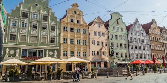 Ort des Geschehens war Augsburg, rund 50 Kilometer entfernt von München.