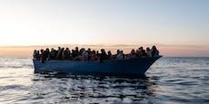 52 Tote – Boot sinkt nach sechs Tagen Irrfahrt