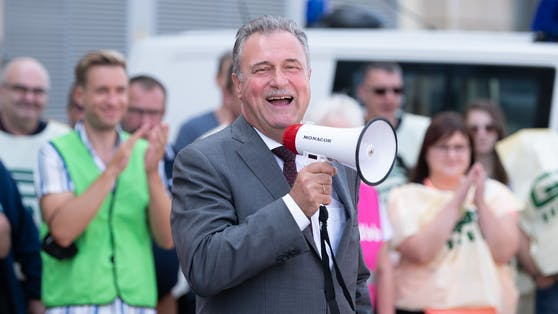 Claus Weselsky, Gewerkschaftsvorsitzender