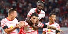 4:0! Szoboszlai-Gala bei Leipzig-Sieg gegen Stuttgart