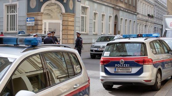 Polizeieinsatz in Wien-Neubau: Ein