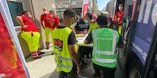 Jaukerl vor Moscheen: Impfbus tourt zum Islamzentrum