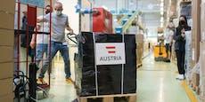 Schallenberg schenkt Ukraine halbe Million Impfdosen