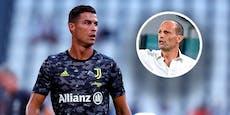 Juve-Coach Allegri: Machtwort zu Ronaldo-Gerüchten