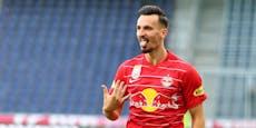 """""""Wechsel mich ein!"""" Salzburger trifft nach 28 Sekunden"""